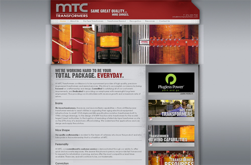 MTC Transformers New