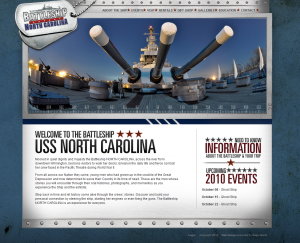 USS North Carolina Battleship