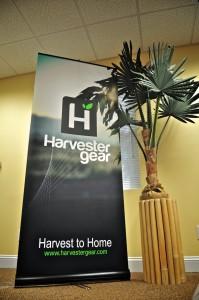 HarvesterGear Tradeshow Banner