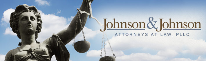 Johnson Law Firm Website Redesign Header