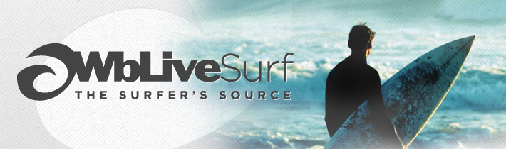 WB Live Surf Website Redesign Header