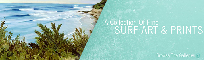 Surf Art Featured