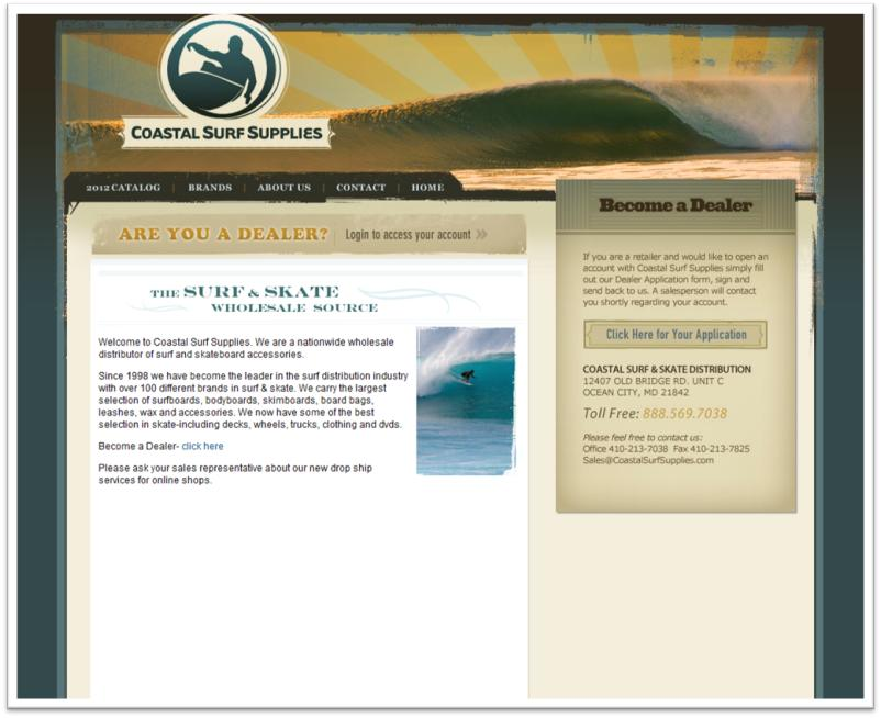 Sage Island announces Coastal Surf Supplies site launch