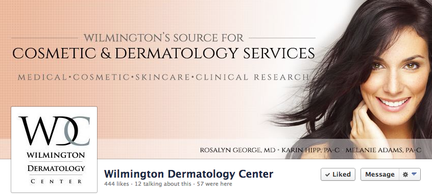 Wilmington Dermatology Center Custom Social Media Graphics by Sage Island