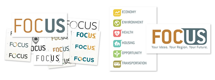 FOCUS Logo Development by Sage Island