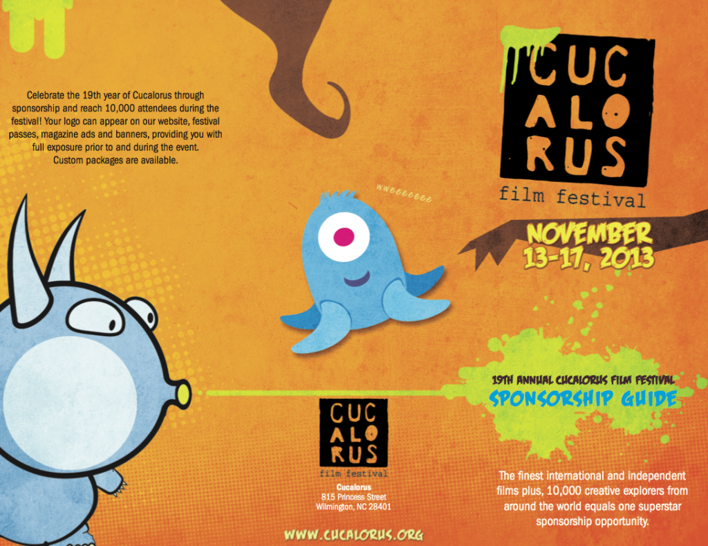 Cucalorus Film Festival Brochure Design - Outside - Design by Sage Island