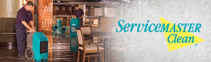 Service Master Home restoration website redesign