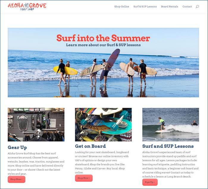 Aloha Homepage