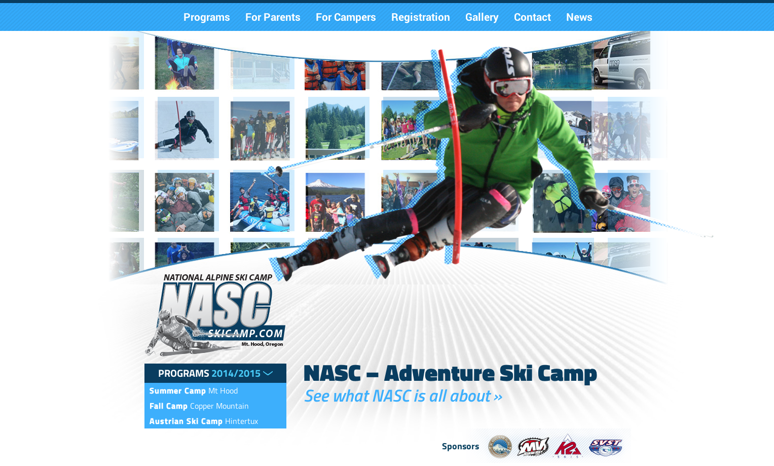 National Alpine Ski Camp Website