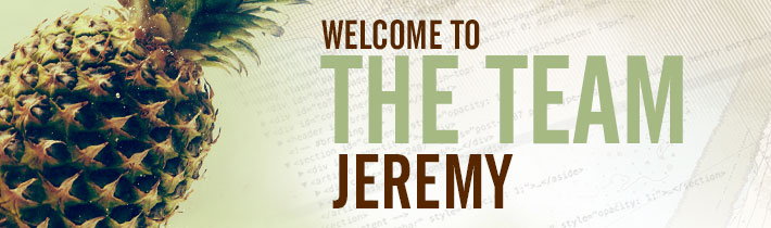 Sage Island Welcomes Jeremy