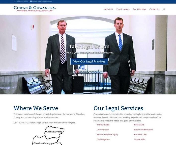 cowan and cowan website