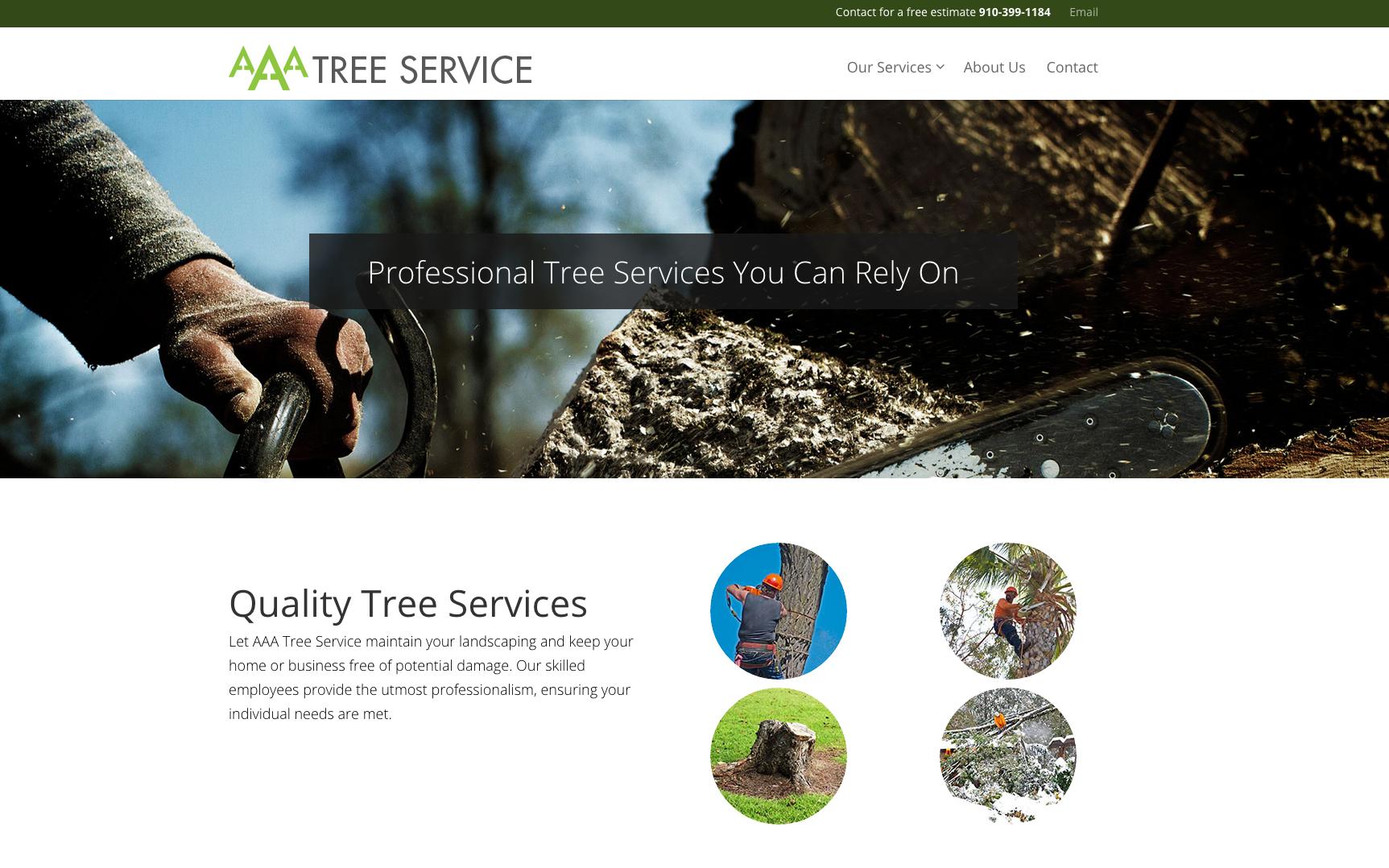 AAA-Tree-Service-Homepage