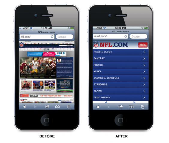 Responsive-design-before-and-after