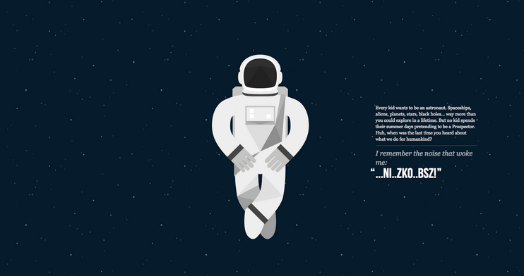 NASA Prospect parallax design