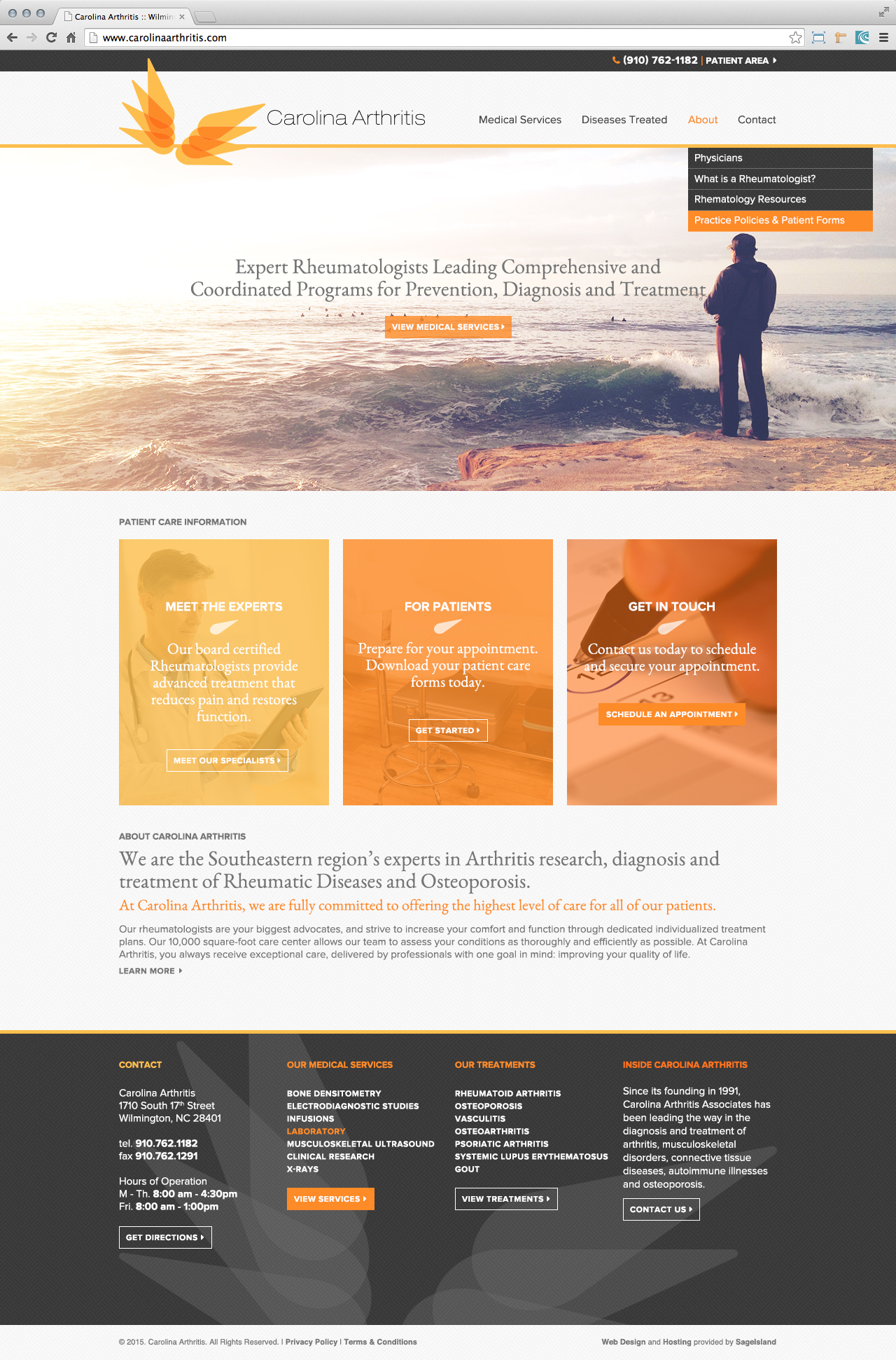 carolina-arthritis-rheumatology-website-design