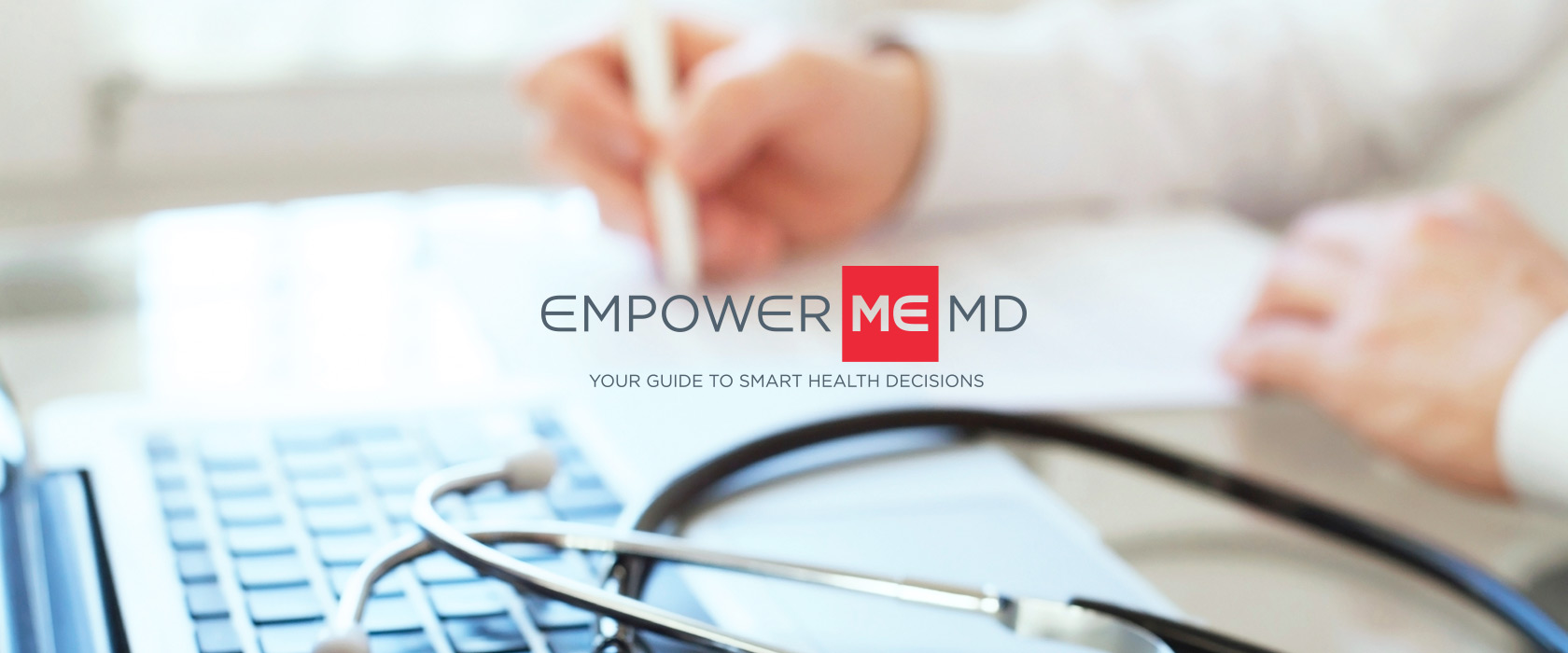 EmpowerMe MD Medical Program Logo Design