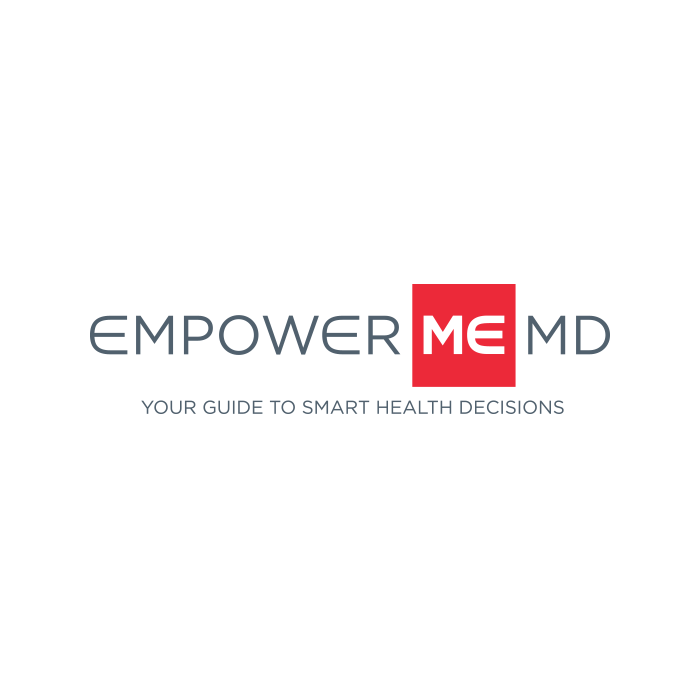 Empower Me MD Logo Design