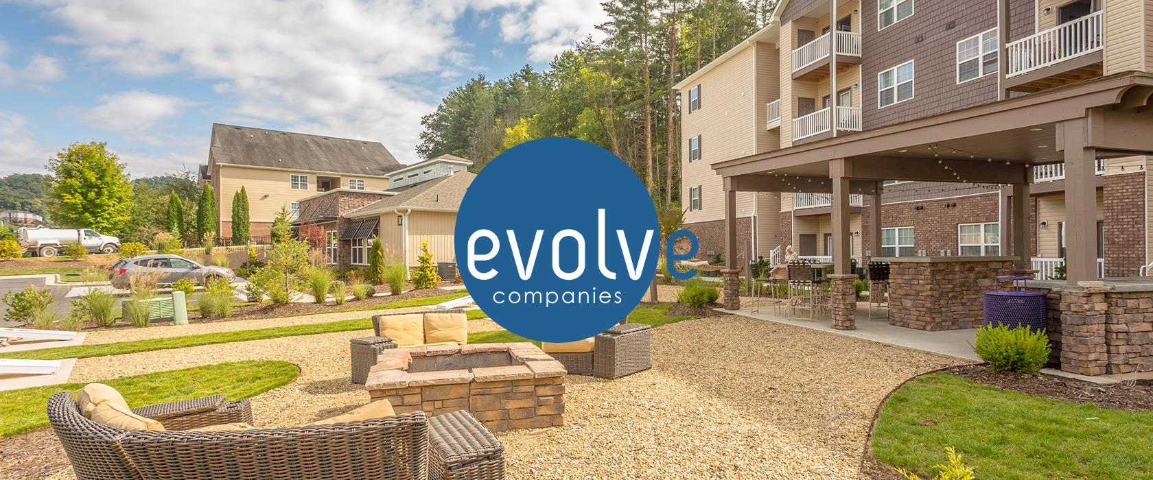 Evolve Companies Real Estate Development Brand Identity System Design