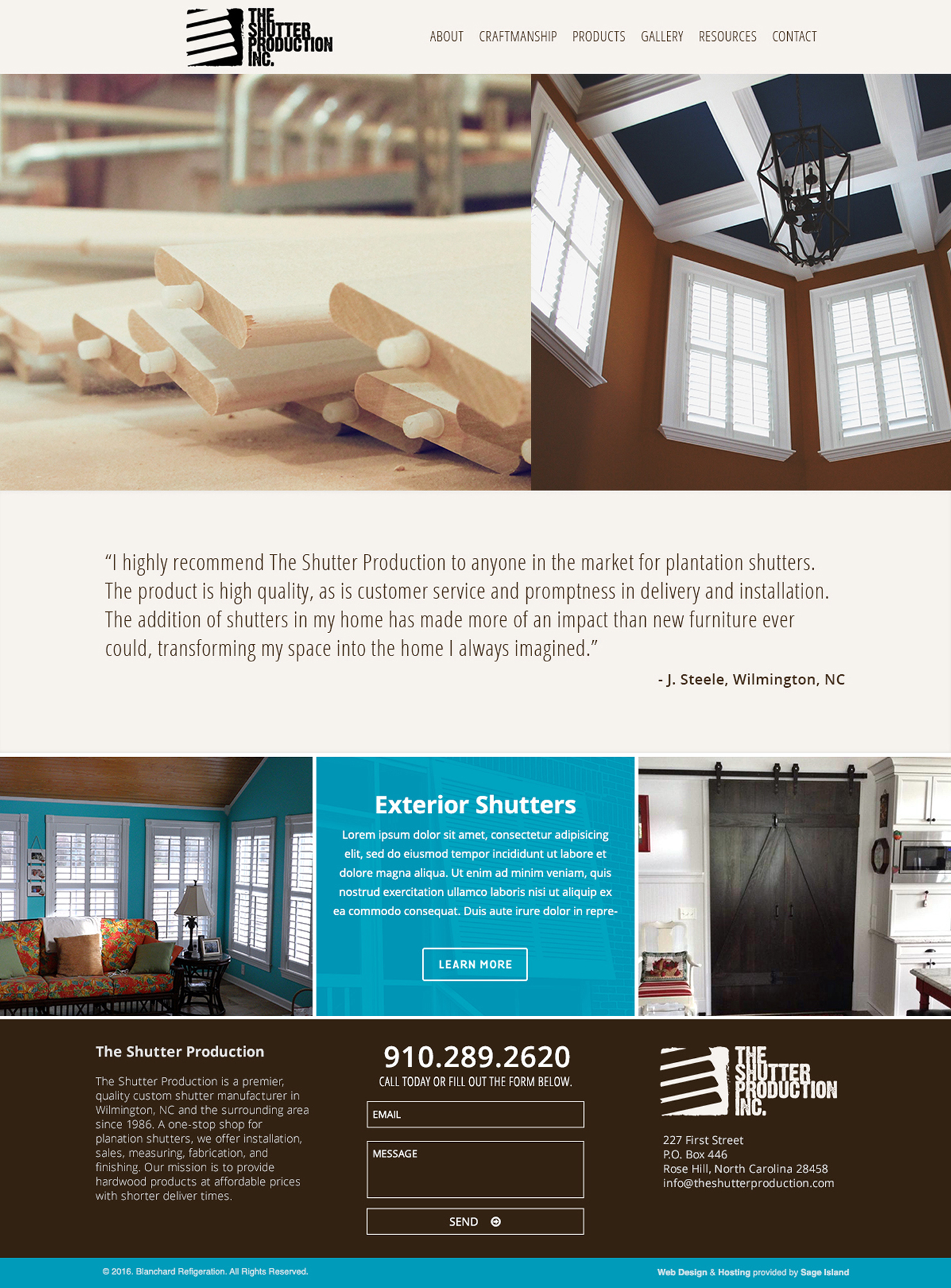 the-shutter-production-handcrafted-custom-shutters-website-design