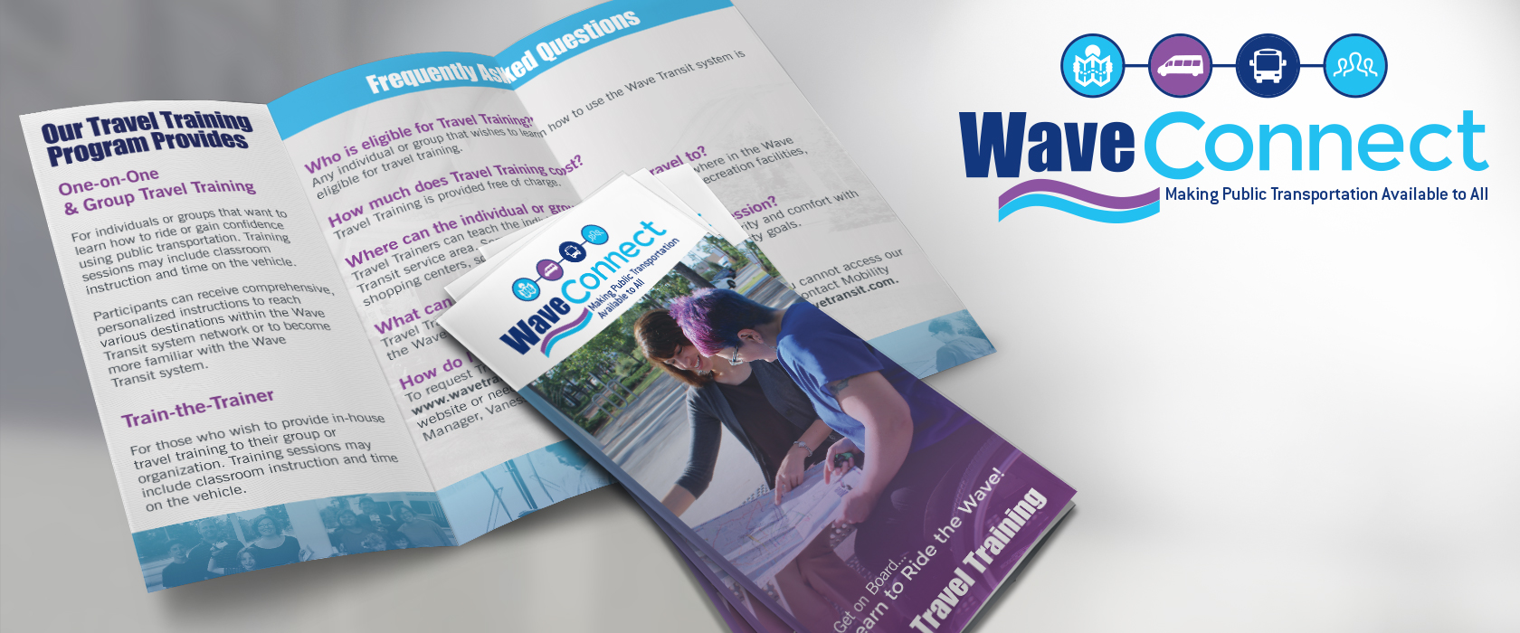 Wave Transit Connect Branding