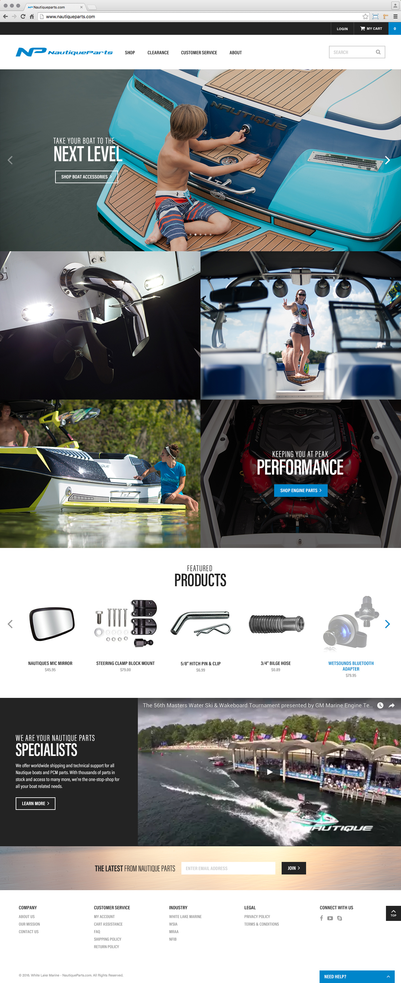 nautique-parts-boat-accessories-ecommerce-website-development