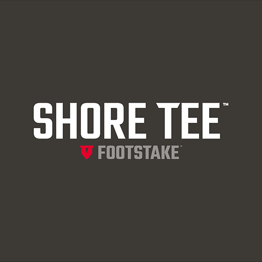 Shore Tee by FootStake™ Logo Design