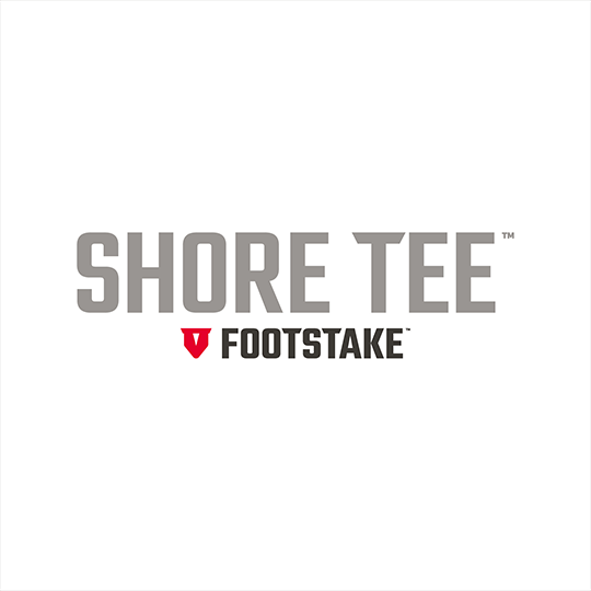 Shore Tee by FootStake™ Logo