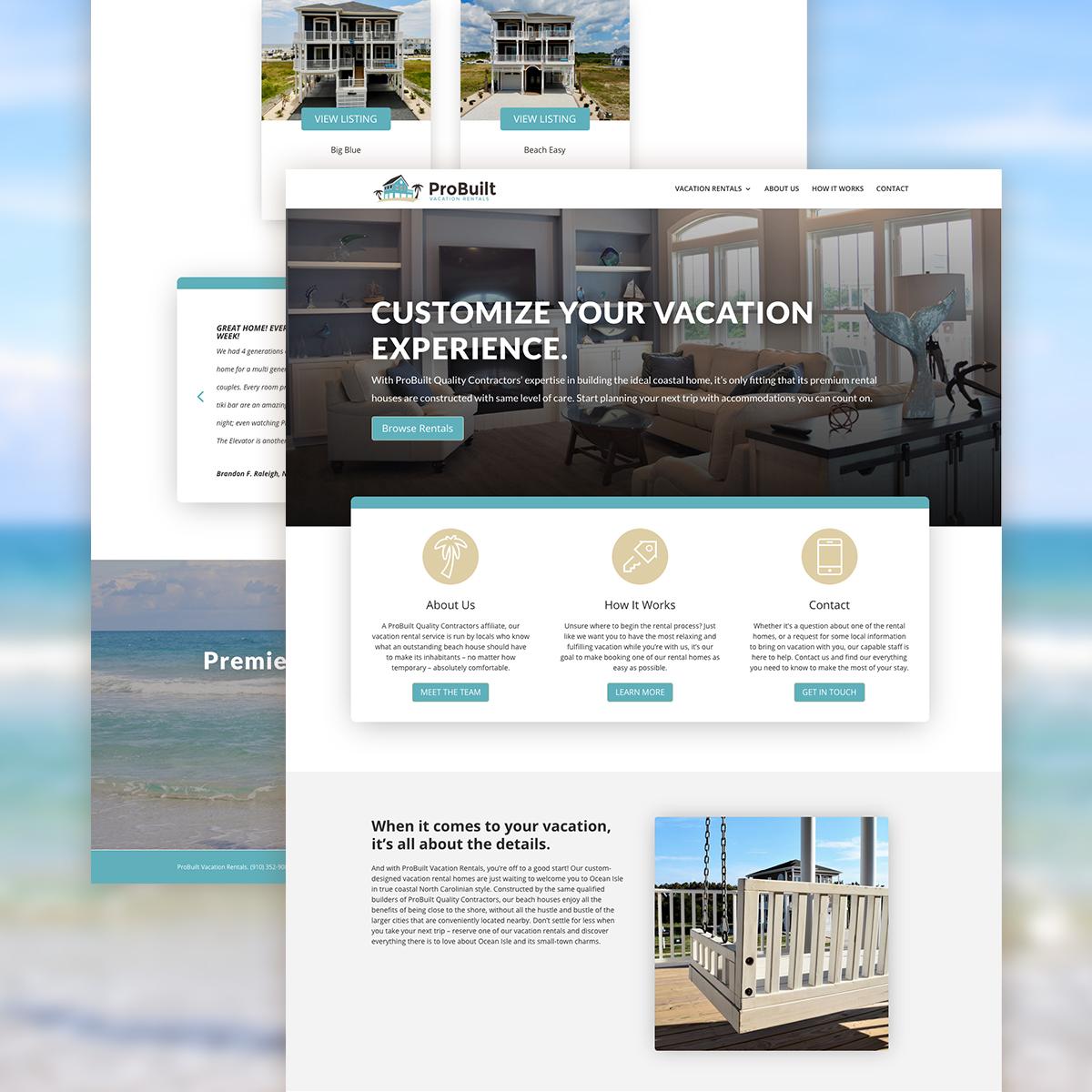 probuilt vacation rentals