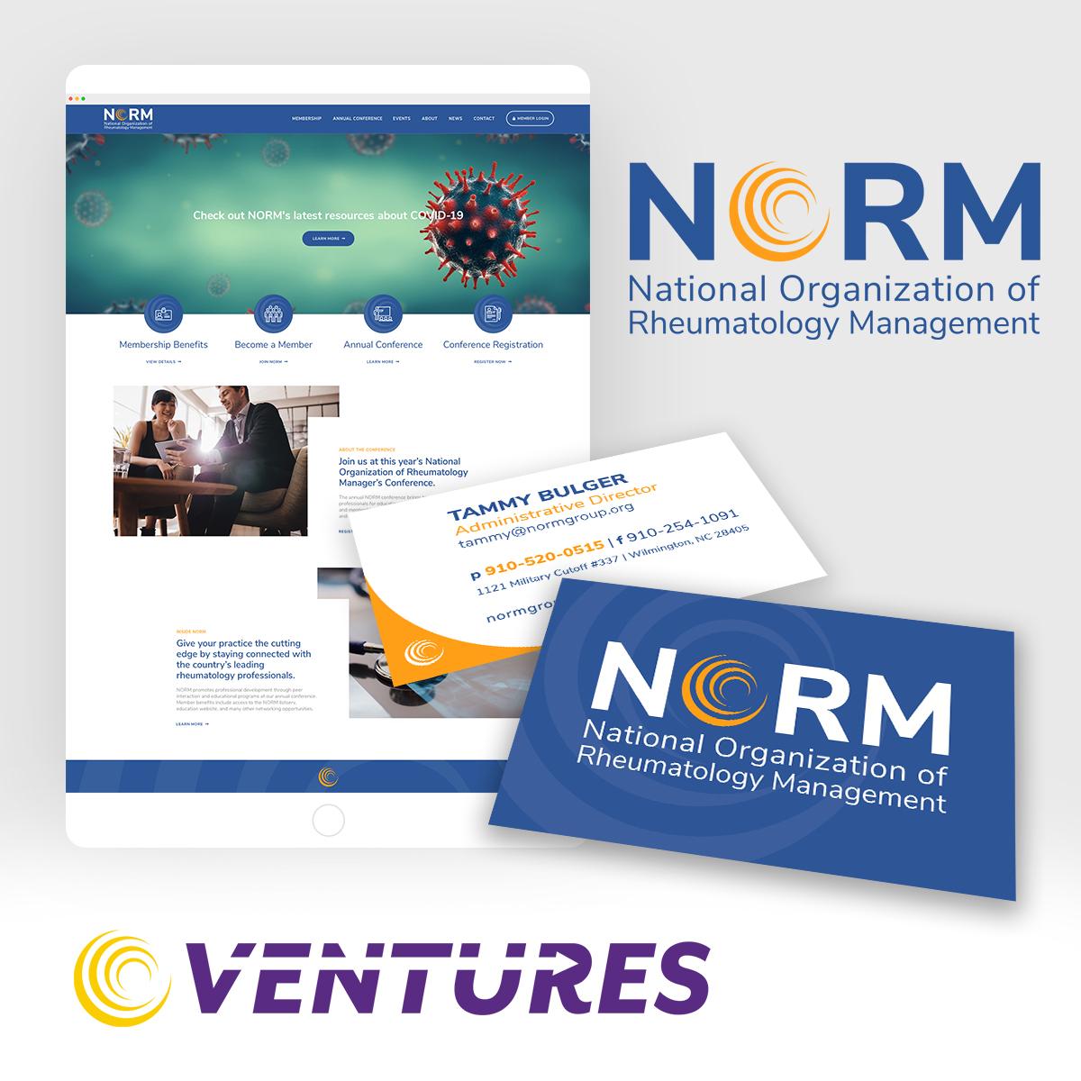 NORM Web dev rebrand